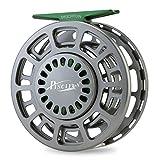 Piscifun - Carrete de pesca con cuerpo de aleación de aluminio fresado con CNC 3/4, 5/6, 7/8, 9/10(gris, negro, azul), Gris plomizo