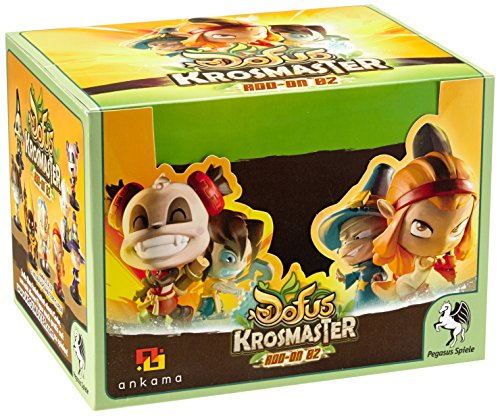Pegasus Spiele 51065G - Krosmaster, espositore Blindbox con set di miniature, stagione 2 [importato dalla Germania]
