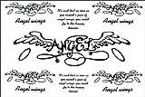 2012 spätestens neues Design neue Release Tattoo Aufkleber wasserdicht Deutsch Engelsflügeln fake tattoo
