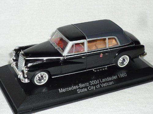 Norev Mercedes-Benz 300d 300 D Landaulet 1960 Papst Vatikan 1/43 Modell Auto Modellauto - Vatikan-modell