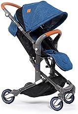 Babysing Landscape Portable Lightweight Foldable Baby Stroller Pushchairs Pram I-Go - Denim Blue