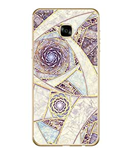 PrintVisa Designer Back Case Cover for Samsung Galaxy C7 SM-C7000 (Interior Design Texture Decorative Light)