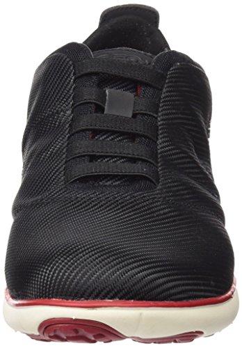 Geox Jungen U Nebula F Sneaker Schwarz (Black)