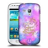 Head Case Designs Umarmen Einhoerner Und Galaxie Ruckseite Hülle für Samsung Galaxy S3 III Mini