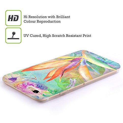Offizielle Haroulita Kaktus Tropisch Soft Gel Hülle für Apple iPhone 5c Paradiesvögel