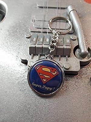 Porte Clé Super Papy !