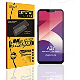 Elove Ultra HD Clear (0.3mm) Flexible Screen Protector [Crystal Clear View] [Anti-Scratch] [ Anti-Fingerprint] [Bubble Free] Tempered Glass for Oppo A3s