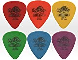 Jim Dunlop - Lot de 6 Médiators Tortex