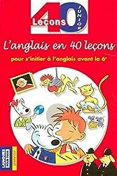 40 leçons anglais junior