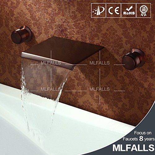 Jduskfl Badezimmeraccessoires Wasserhahn Duscharmatur F6Lavatory Armaturen Becken Temperatur Farbwechsel Glas Waschbecken Wasserfall Wasserhahn