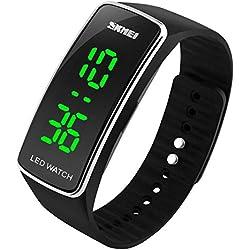Students watch men sport bracelet digital watch