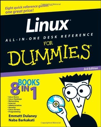Linux All-in-one Desk Reference For Dummies by Emmett Dulaney (4-Jul-2008) Paperback par Emmett Dulaney