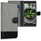 kwmobile Razer Phone 2 Hülle - Kunstleder Wallet Case für Razer Phone 2 mit Kartenfächern & Stand