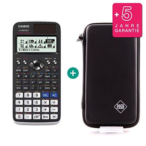 Casio FX 991 DE X + Schutztasche + Erweiterte Garantie