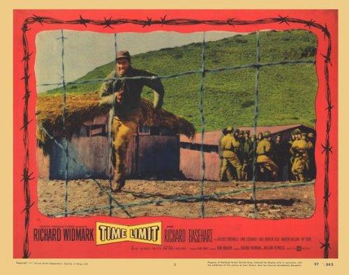 Time Limit Plakat Movie Poster (11 x 14 Inches - 28cm x 36cm) (1957) C