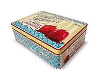 NATIVES 211495 Confiseur Boîte à thé de 6 compartiments Métal Multicolore 20 x 14,5 x 6,5 cm