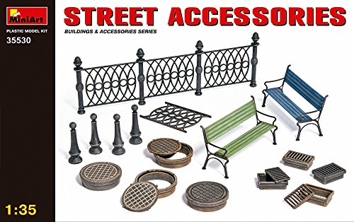 miniart-135-scale-street-accessories-plastic-model-kit