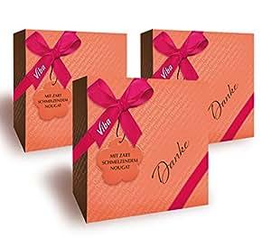 Viba Kleine Grüße Motiv Danke, 3er Pack (3 x 50 g)