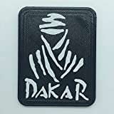 Patch Aufnäher Logo Flexibel Druck 3D Aufbügler Aufkleber Magnetic Dakar - Dim 6,3 x 5 cm - Replik