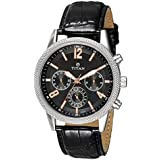 Titan Dress Watch For Men Analog Leather - 1734SL02