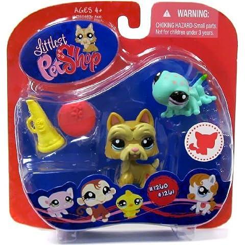 Littlest Pet Shop Scotty Dog & Gecko #1260 & #1261 ~ Walmart Exclusive by Littlest Pet Shop