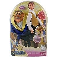 Mattel T2799-0 - Disney Princess, Die Schöne und das Biest - Verwandlungsprinz, Puppe und Biest-Jacke