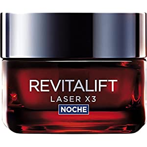 L'Oreal Paris Dermo Expertise Revitalift Láser x3 Crema Noche Intensiva Anti-Edad – 50 ml