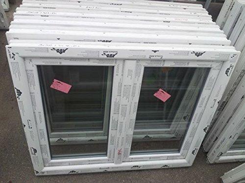 Kunststofffenster Seebach8000 120x90 cm (b x h), weiß, rechts Dreh-Kipp, links Drehöffnung