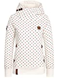 Naketano Damen Kapuzenpullover Ridin The White Horse Hoodie