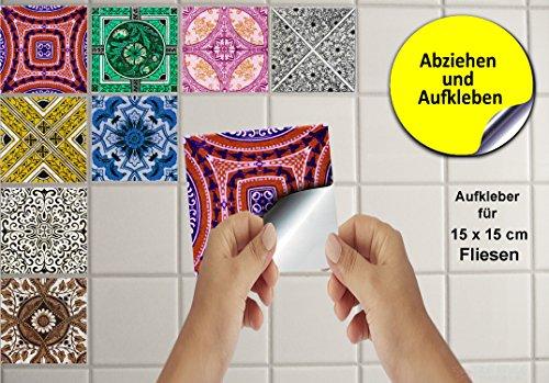 Multi pack piastrelle adesive per cucina e bagno tile