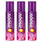 #2: Moov Spray - 80 g (Pack of 3)