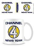 Anchorman Die Legende von Ron Burgundy Tasse Channel 4 News Team