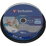 Verbatim 43804 BD-R, Rohlinge (6x Speed, 25GB,10er Spindel)