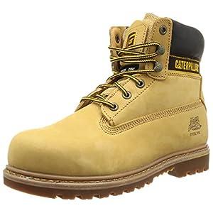 Cat Footwear - Holton St Sb, Stivali  da uomo, Beige (Beige - Beige (Honey Reset Miel raz)), 47