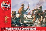 Airfix A01732 WWII British Commandos 1:72 Scale Series 1 Plastic Figures