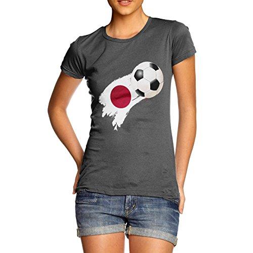 TWISTED ENVY  Damen T-Shirt Dunkelgrau