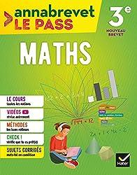 Maths 3e brevet 2018