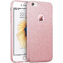 """Qissy® ( No para iPhone 6 plus/6s plus ) iPhone 6/6s Funda, Carcasa iPhone 6/6s lentejuelas brillantes Case Cover Silicona Suave Funda para Apple iPhone 6/6s 4.7"""""""