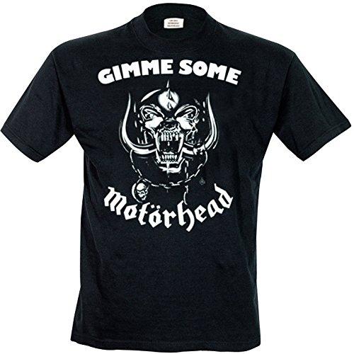 Motorhead - T-shirt, Uomo, Nero (Black), L