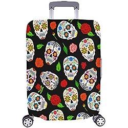 Cubierta de Maleta Protectora de Equipaje de Viaje Maleta de Viaje de Dia Los Muertos de México 28.5 X 20.5 Inch