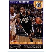 2013 14 Panini Hoops Basketball Card # 100 Marcus Thornton Sacramento Kings