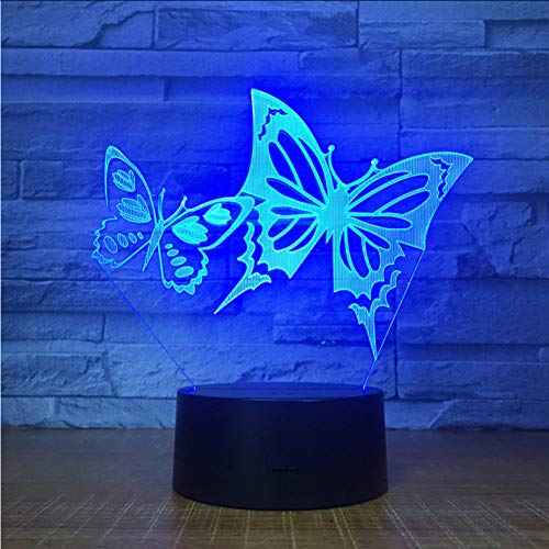 Fantasy Butterfly Wings - Cmhai Butterfly Wings Led Nachtlicht 3D