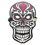 Noyokere Máscara de Disfraces de Halloween para iluminar la máscara de Fiesta, Cosplay Control por Voz Máscaras activadas por Sonido para Disfraces de Festivales