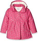 3 Pommes Lovely Girl, Manteau Imperméable Bébé Fille, Pink (Raspberry), 9-12 mois