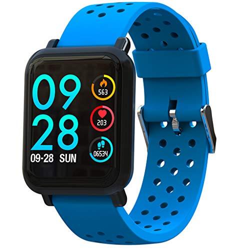 Yallylunn Smart Watch Android Ios Sports Fitness Calorie Wristband Wear Touchdisplay Aus Kristallglas Hat Speicherplatz FüR Musik Genaue Messdaten