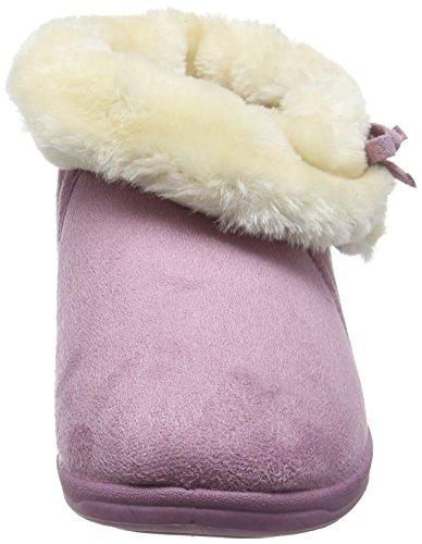 Dunlop Bessie, Chaussons femme Violet (Powder Pink)