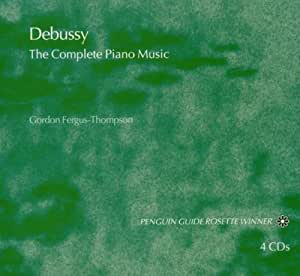Debussy : The Complete Piano Music [Import anglais]