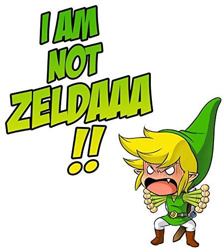 Pull Jeux Vidéo - Parodie Link de Zelda - Traduction Anglais - Pull Noir - Haute Qualité Noir