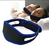 Anti-ronflement jugulaire sangle bandage mâchoire correcteur sans apnée sommeil masques réglable naturel ronflement dispositif de secours pour les reniflards de la bouche