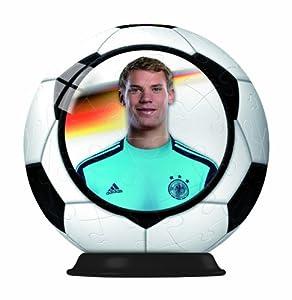 Ravensburger 11880-DFB Jugador coleccionar: Manuel Neuer-Puzzleball 54Piezas